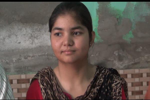 the prime minister wants to create the topper isha of haryana 497 points