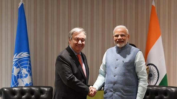 india raise about terrorism in un