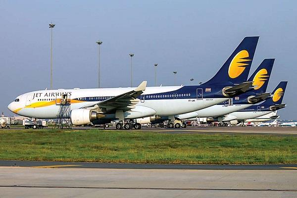 big loss in shares of banks lending to jet airways