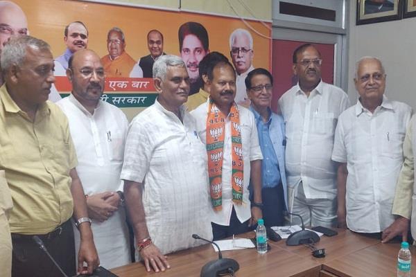 former adgp v kamraja joins bjp
