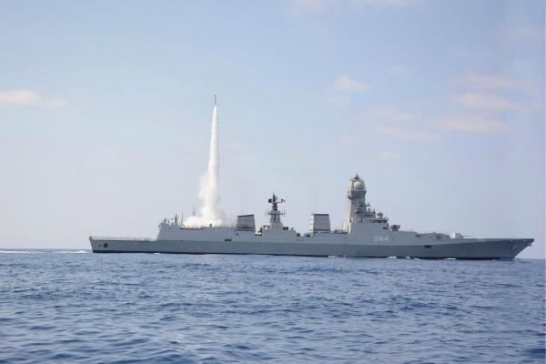 navy surface to air missile test