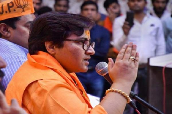 speaking on the statement of sanjay nirupam sadhvi pragya