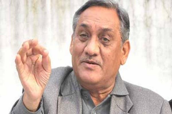 statement of vijay bahuguna