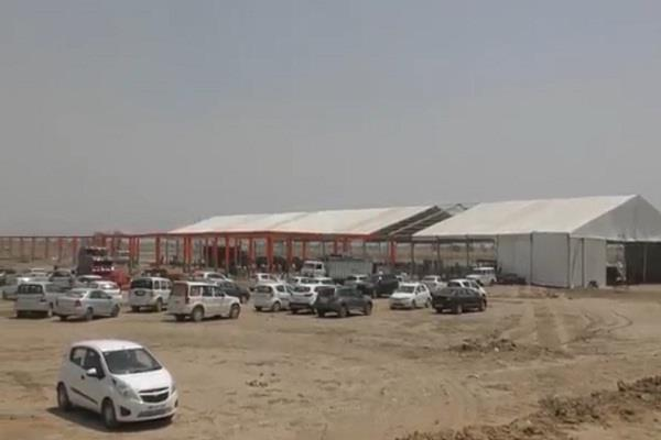 pm narendra modi s rally is being organized in 8 acres pandal