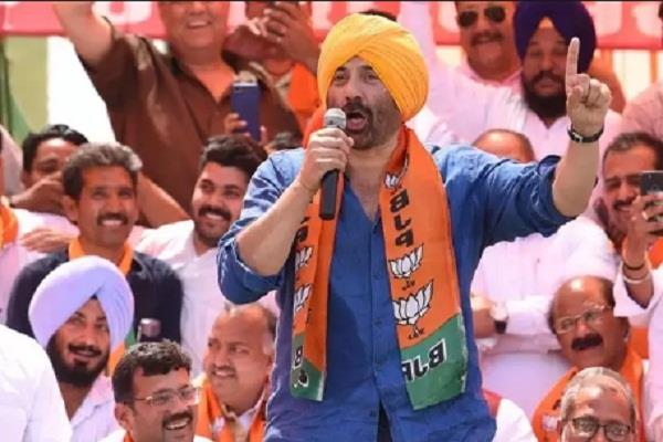 sunny deol bjp candidate from gurdaspur