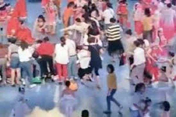 theater stage collapse in china one child dies  14 wounded