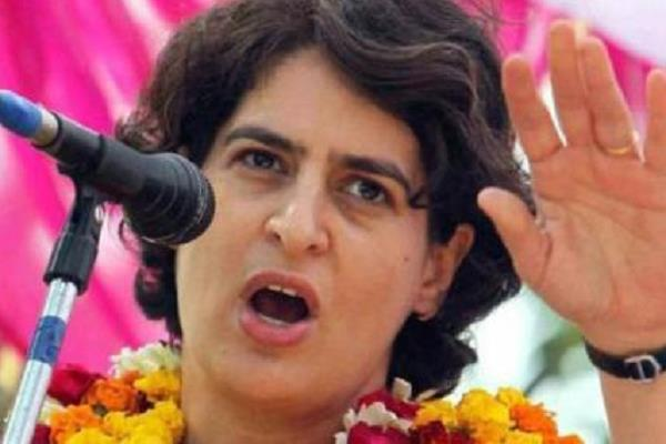priyanka gandhi s announcement