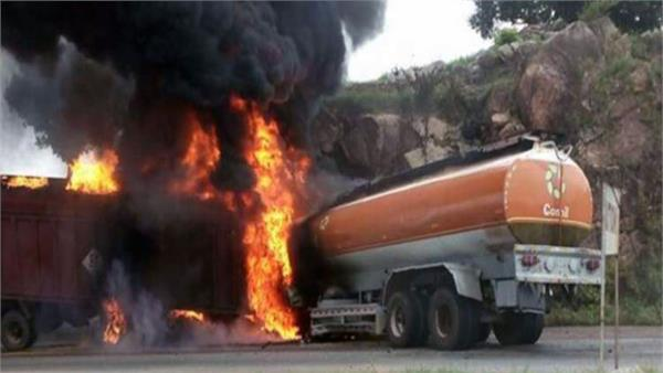 at least 55 killed in tanker explosion