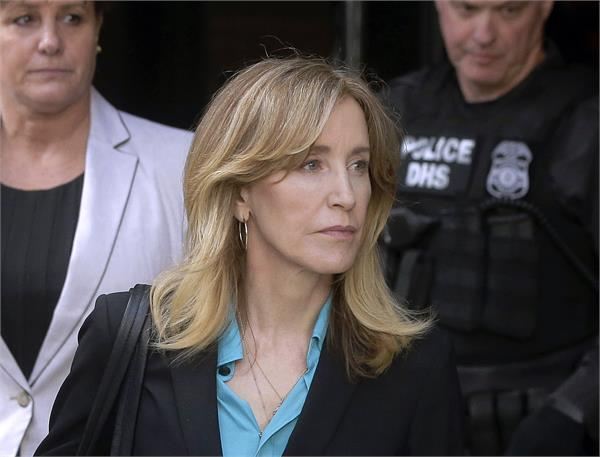 actress felicity huffman pleads guilty in college scam