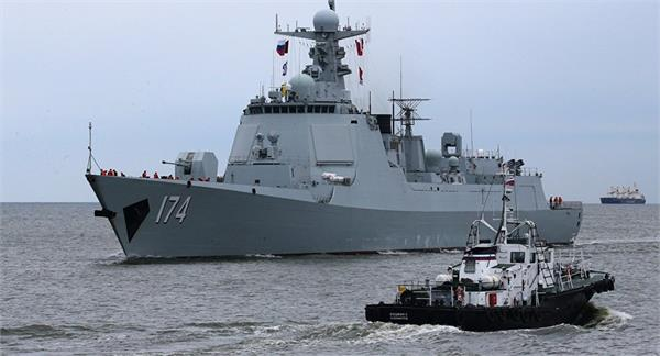 chinese navy launches two new guided missile destroyers