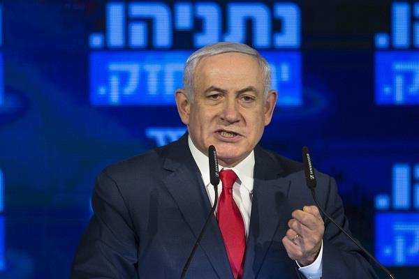 netanyahu ordered massive attack on gaza
