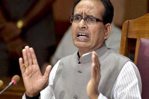 shivraj s war on congress says