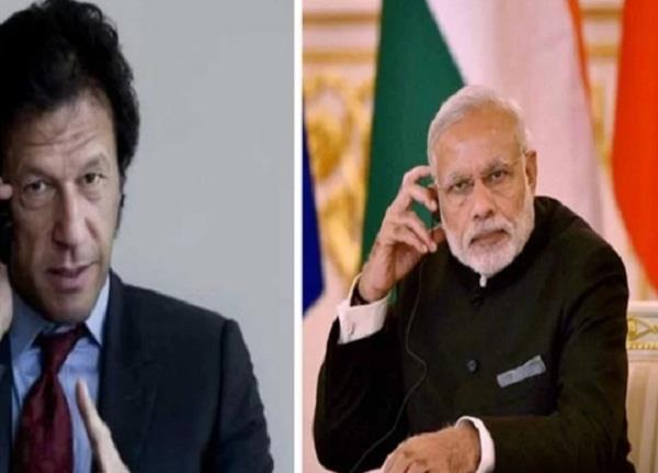 pakistan pm imran khan congratulates pm modi on phone