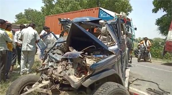 badayun 3 people dead in road accident