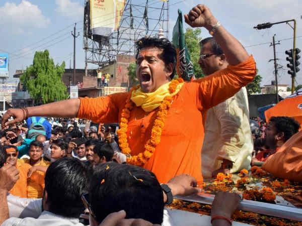 bhojpuri superstar ravi kishan won the gorakhpur seat