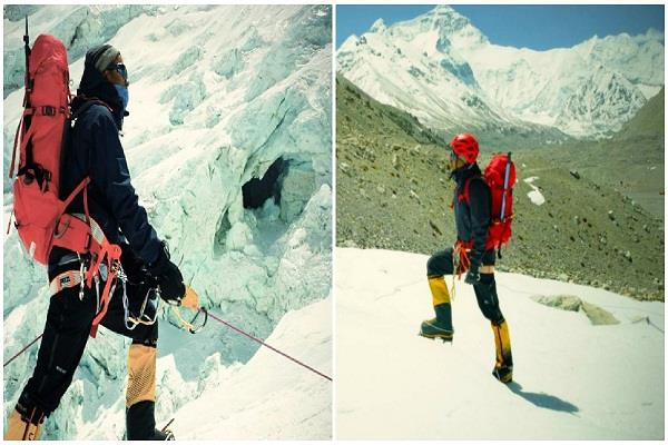 ravindra the first ias officer to beat the everest for the second time