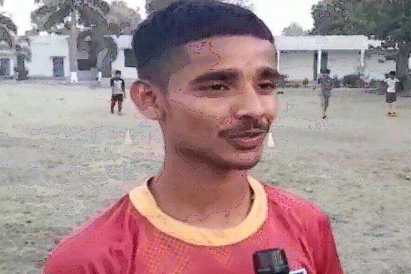 footballer at international level