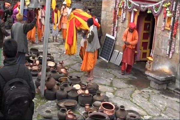 kapat open of lord mademeshwar dham