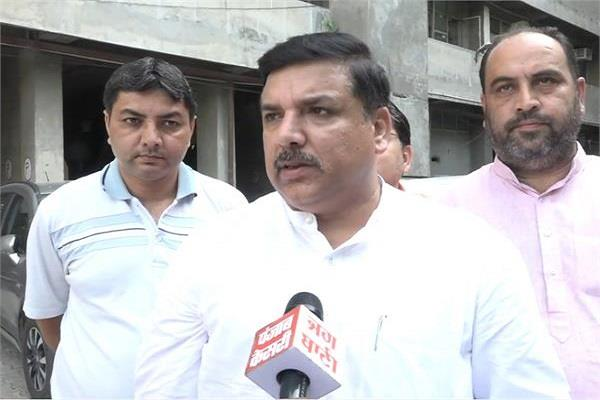 sanjay singh told why the aam aadmi party