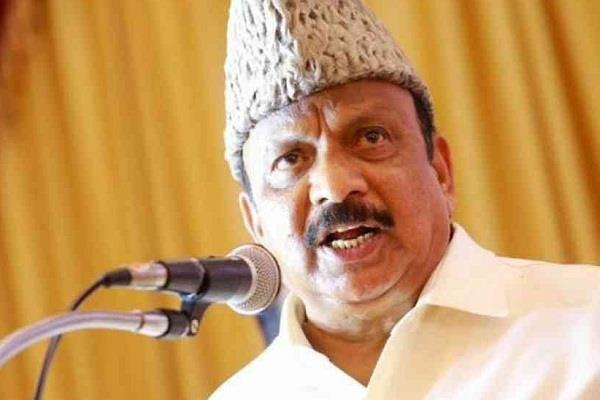 congress sent a show cause notice to his mla giving controversial statement