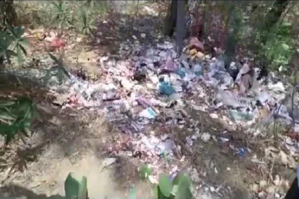 instructions issued by municipal council in case of medical waste in open