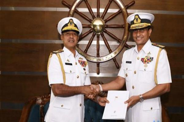 rear admiral ulugeti the new naval chief of sri lanka