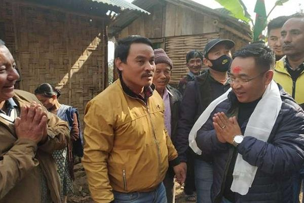 ps shells will take oath as chief minister of sikkim on monday