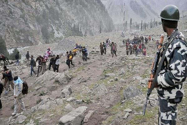 security increased in loc before amarnath yatra