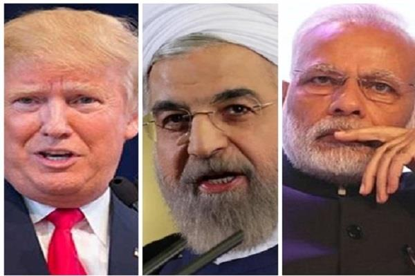 india will show diplomacy in relations with iran and america