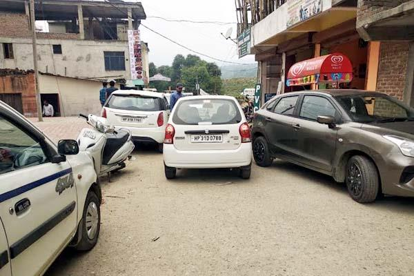traffic jam in sundernagar