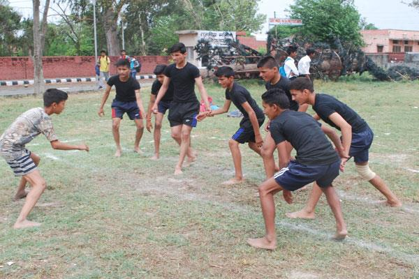 games continued in kathua sports stadium