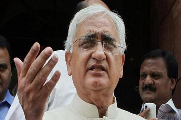 do not expect us support for the third front salman khurshid