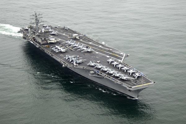 increased stress in us iran warship ship deployed in western asia