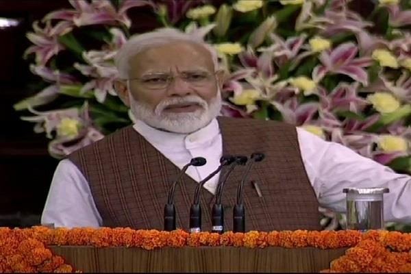 do not become ministers by names in newspapers modi