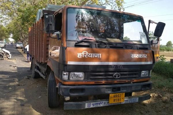unknown truck entered in in evm strong room without permissions