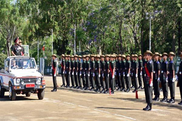 swear parade ceremony in subathu kosalaria stadium