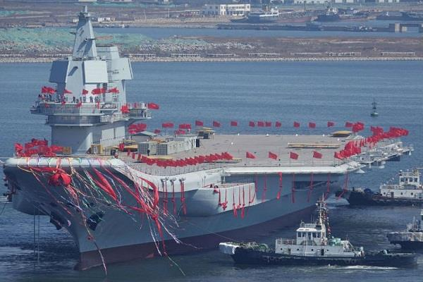 china s third largest aircraft carrier satellite image issue