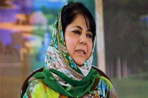 mehbooba on imran s phone talks with pakistan