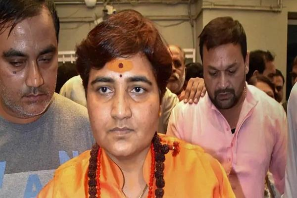election commission imposes 72 hours restriction on sadhvi pragya thakur