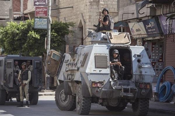 16 suspected militants killed in egypt