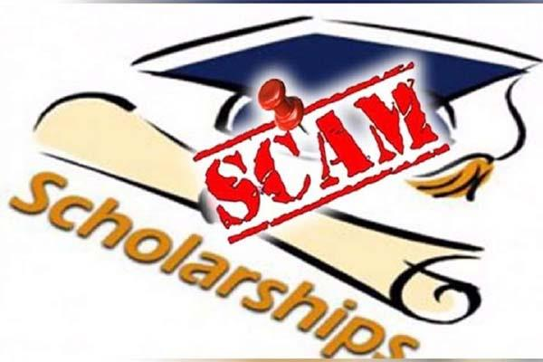 scholarship scam  computer and hard disk will open the secret