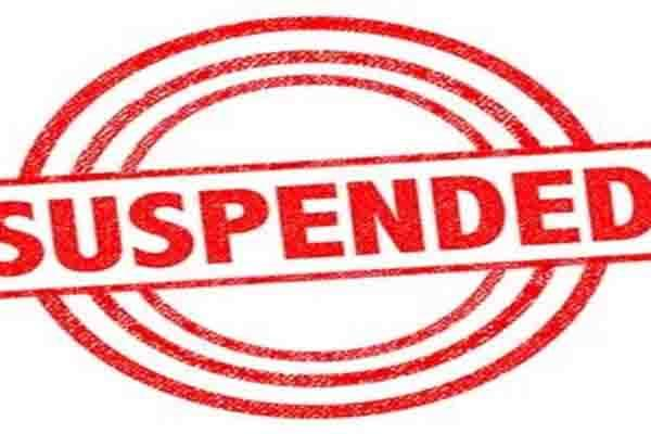 booth capturing case sarpanch suspended in village aswati