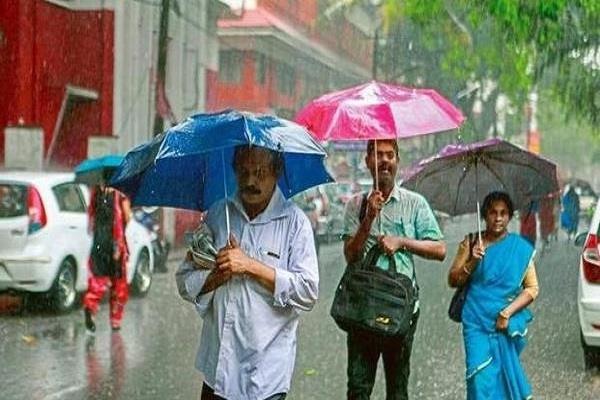 estimates of living below normal monsoon in north south india imd