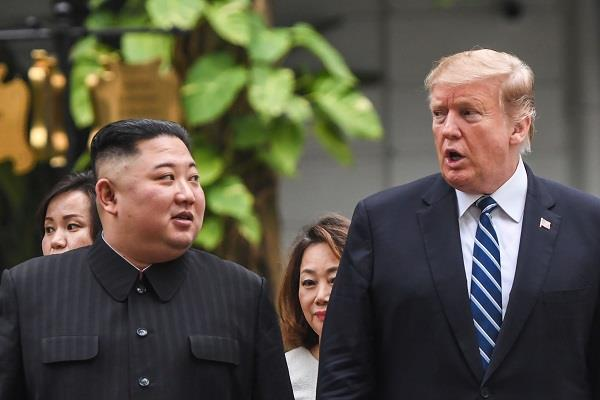 trump said north korea s kim will not break the promise