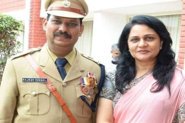 instructions for transfer of sunita duggal s husband ips rajesh duggal