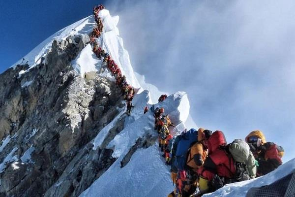 two more indian climbers died on mount everest so far eight indians were killed