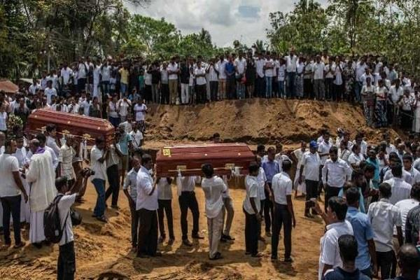 10 terrorists buried in sri lanka without any religious customs