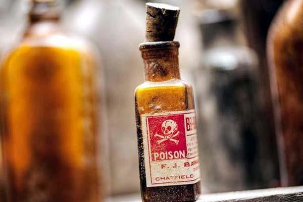 fed up with husband married ate poison