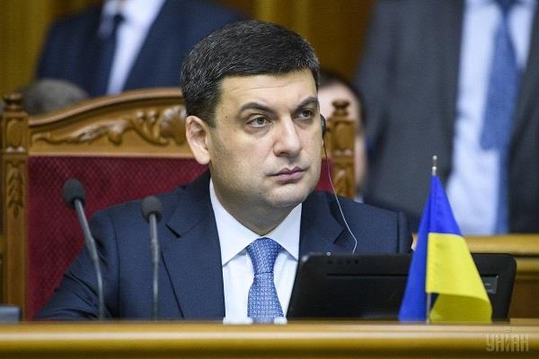 ukraine s prime minister announces resignation after taking zellensky s oath