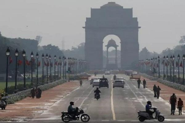 rainfall in delhi ncr in temperature